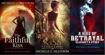 The Kiss series 3 book covers