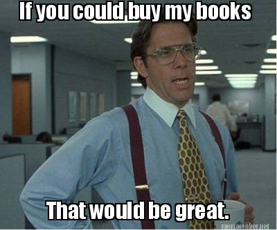 buy my books