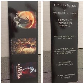 kiss series bookmarks
