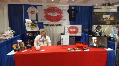 michelle in lubbock con booth 2017