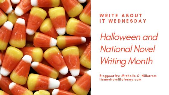 halloween and nanowrimo national novel writing month