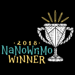 NaNoWriMo National Novel Writing Month Winner
