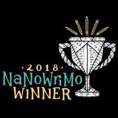 NaNoWriMo National Novel Writing Month Winner