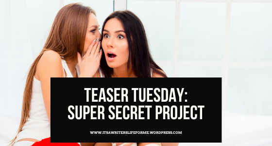 it's a writer's life for me michelle hillstrom super secret project teaser